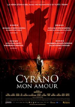 Cyrano Mon Amour, per la regia di Alexis Michalik: teatro e cinema si fondono in un film che ha la forza rara delle storie belle da piangere.