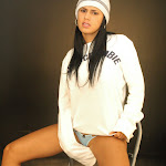 Andrea Rincon, Selena Spice Galeria 19: Buso Blanco y Jean Negro, Estilo Rapero Foto 83