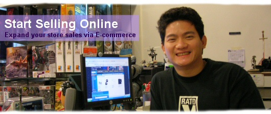 Expand your store sales via e-commerce