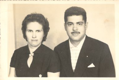 Tia Nica e tio Nico (ele in memoria)