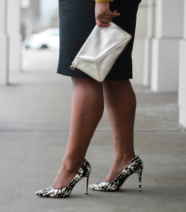 how to wear animal print pumps heels spring