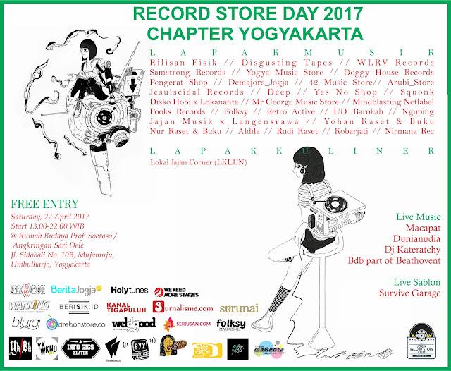 records store day yogyakarta