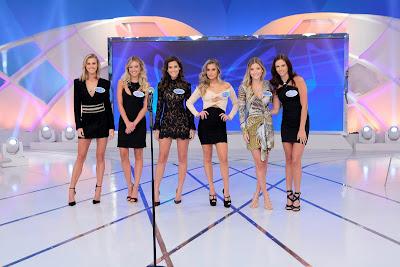 Renata Kuerten, Barbara Heck, Nádia Vieira, Julia Cardones, Gabriela Vanti e Ana Carolina Schmidt (Crédito: Lourival Ribeiro/SBT)