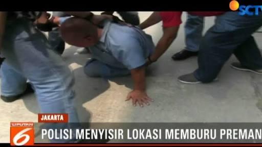 Sejak Jakarta Dipimpin Anies, Jakarta Kembali Dikuasai Preman, Polisi Bekuk 7 Preman Berlagak Sekuriti Yang Malak Pemilik Ruko di Cengkareng