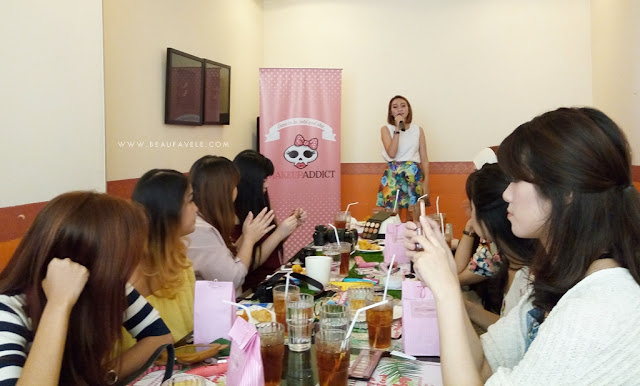 Blogger gathering with Makeup Addict and Clozette