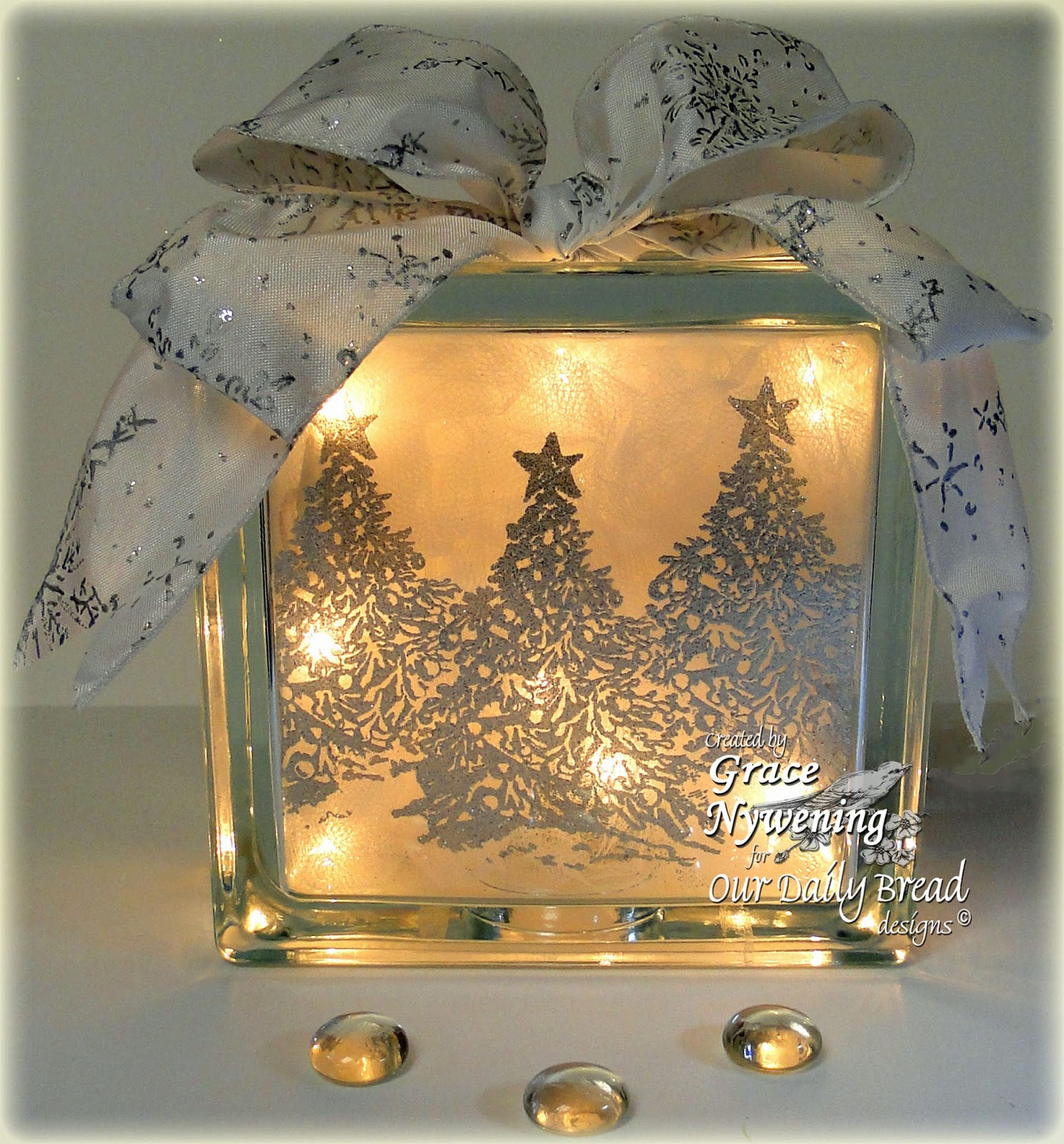 Deco Block Ideas Th Ink Ing Of You A Glass Block Gift Idea