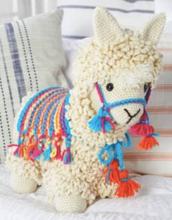 free llama crochet pattern