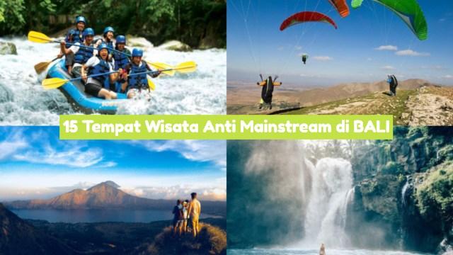 Wisata Anti Mainstream di Bali