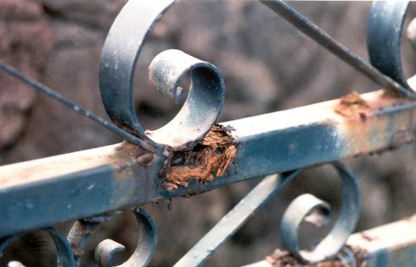 Cara Menghilangkan Karat Pada Pagar Besi