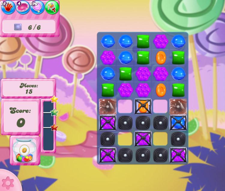 Candy Crush Saga level 2763