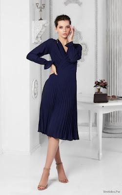 Vestidos azul marino cortos
