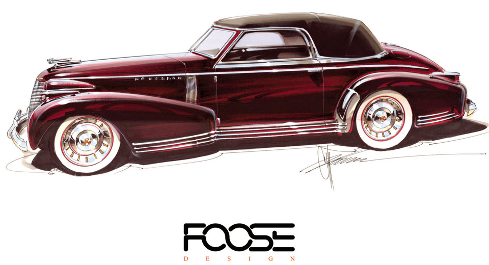 Chip Foose Bringing To Life Cadillac First Sketched And Commissioned In 1935
