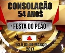 Agenda Shows 2017 Festa de Peão de Consolação