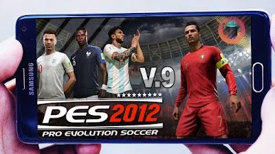 تحميل لعبة  PES 2012 V.9 MOD CUP RUSSIA للاندرويد باحدث الانتقات والاطقم