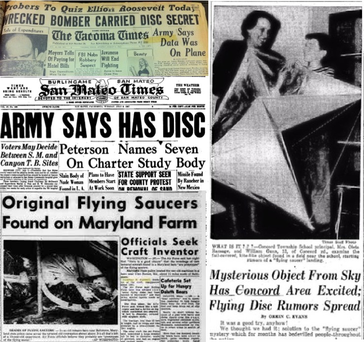 The Saucers That Time Forgot: Captured UFOs and Building