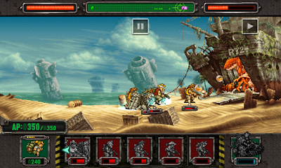 Screenshot: Metal Slug Defense Apk