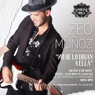EN CONCIERTO: ZEO MUÑOZ smoking molly Bogota