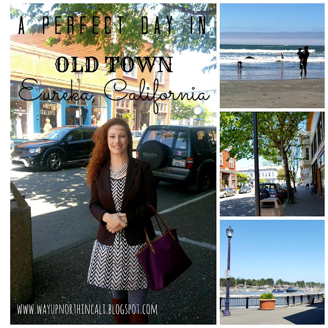 A Perfect Day In Old Town Eureka, CA  www.wayupnorthincali.blogspot.com