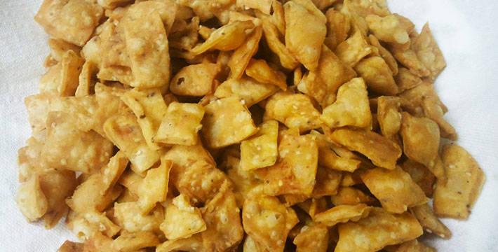 खारी शंकरपाळी- पाककला | Khari Shankarpali - Recipe