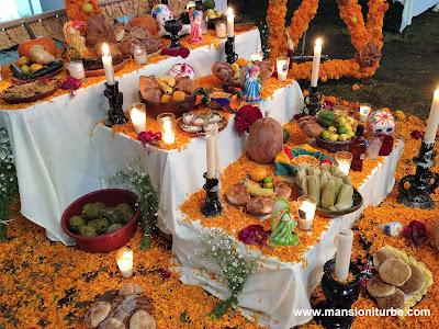 Altar de Día de Muertos en Pátzcuaro, Michoacán