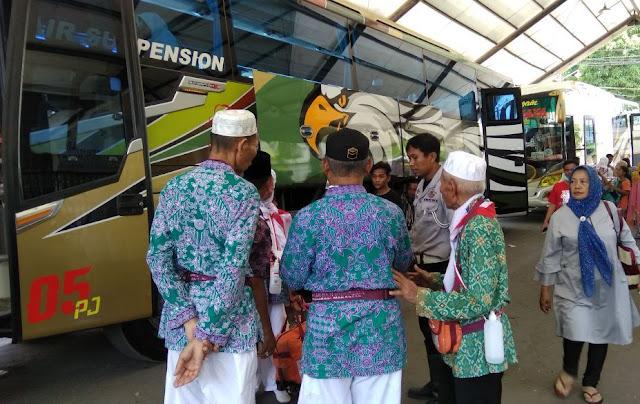 Rombongan ,Jamaah Haji, Siang Ini, Menuju Selayar