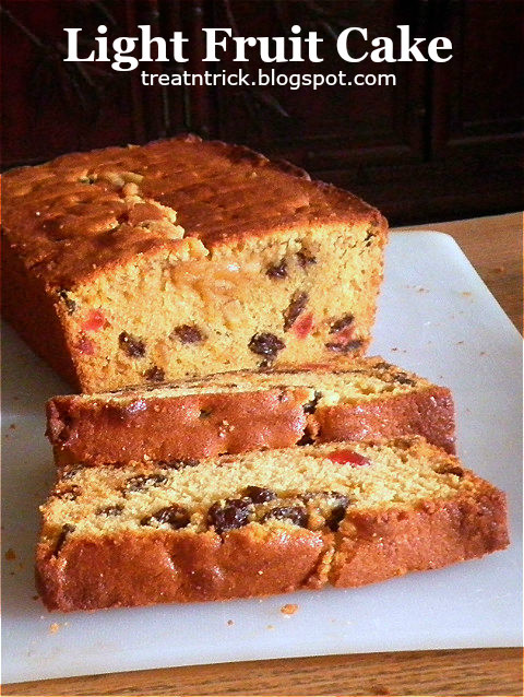 Light Fruit Cake by Treat and Trick