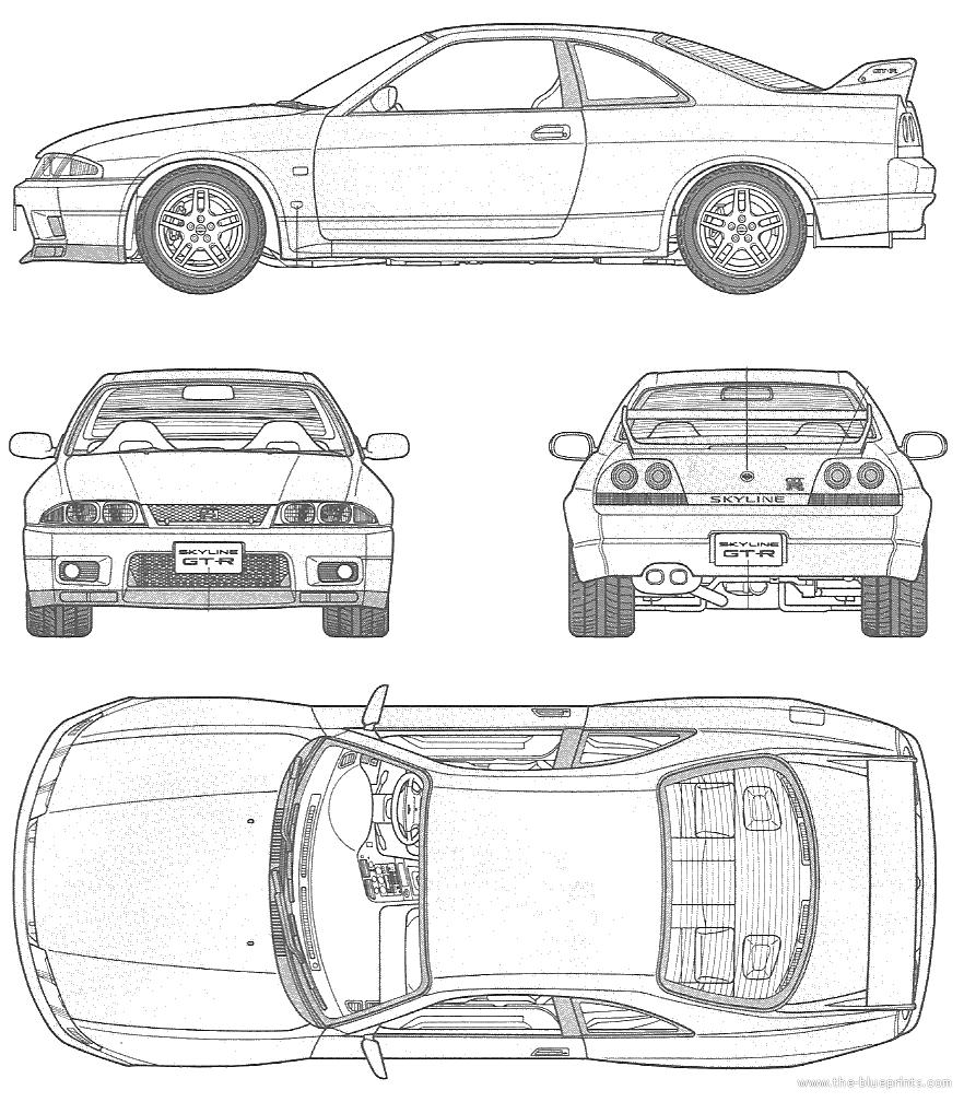 1995 nissan r33 skyline gt r specs