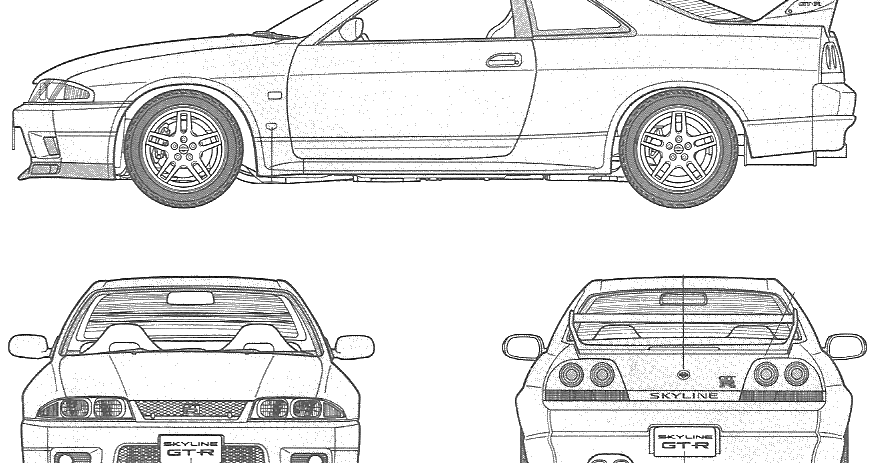 One Man's Lonely Adventures In His R33 Skyline GT-R: R33