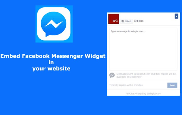 Cara Memasang Widget Live Chat Messenger di Blogger