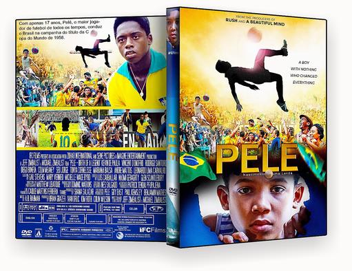 DVD-R Pelé O Nascimento de uma Lenda (2017) – OFICIAL