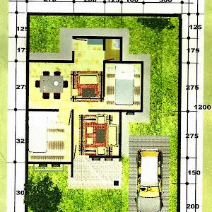 69+ Contoh Denah Rumah Minimalis
