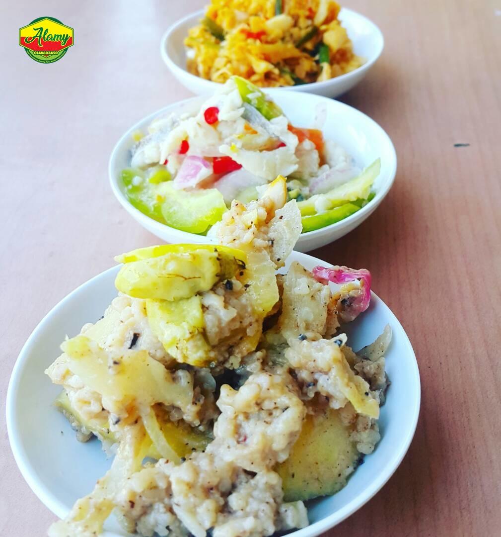 menu Alamy Cafe, Alam Mesra Kota Kinabalu