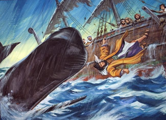 Who's ? Right: The Prophet Jonah