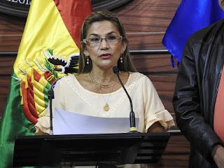 Senadora Añez pide no dar refugios a ex funcionarios del anterior gobierno de Correa del Ecuador