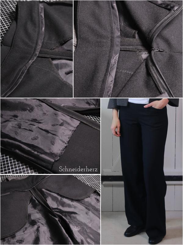Details Marlenehose - Mode selber nähen