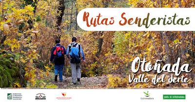 Rutas Senderistas Otoñada 2016. Valle del Jerte
