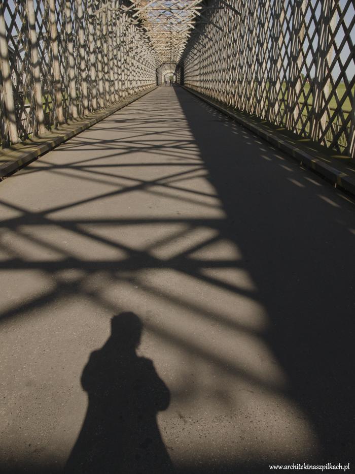Most kolejowy w Tczewie. Architektura.