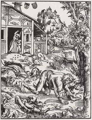 Fenomena Manusia Serigala dari Pavia