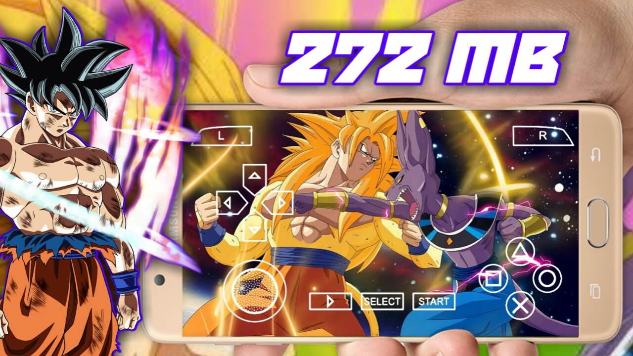 272 mb] dragon ball z war of gods | PSP mod for android