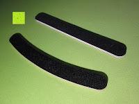 Erfahrungsbericht: Feile Nagelfeilen Maniküre Pediküre 10 Set 100/180 Grit (schwarz gebogen)