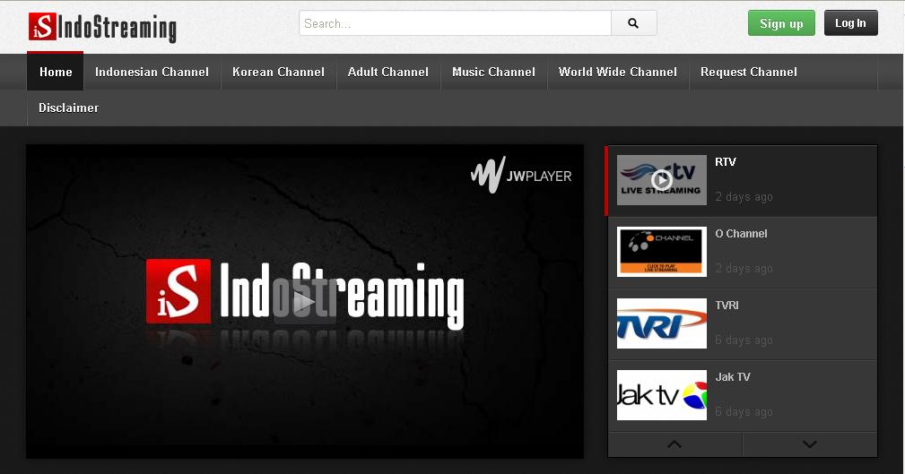 IndoStreaming Streaming TV Line Terlengkap Di Indonesia Dengan