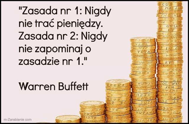 Warren Buffett, cytaty o oszczędzaniu i pieniądzach.