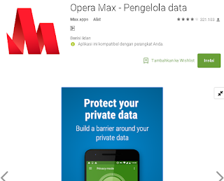 Ulasan Secara Lengkap Tentang Opera Max VPN Di Android
