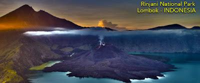 Taman Nasional Gunung Rinjani - Lombok Tour Package