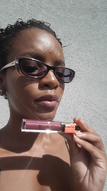 Milani Brilliant Shine Lip Gloss 'Mauve Fetish' swatch www.modenmakeup.com