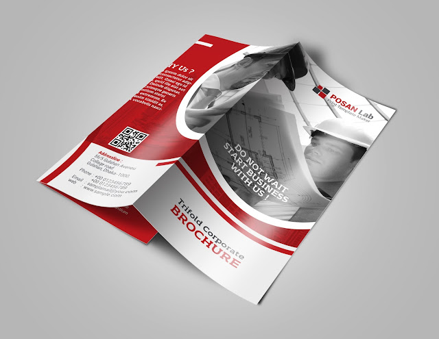 Trifold brochrue, trifold brochure design, free trifold brochure, print template