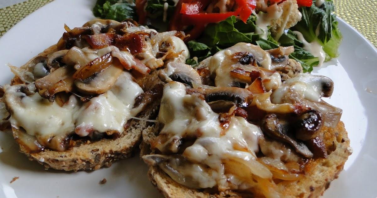Mennonite Girls Can Cook Mushroom Bacon Melt
