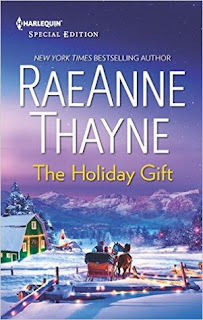 romance novel cover, contemporary romance, holiday romance, The Holiday Gift by RaeAnne Thayne