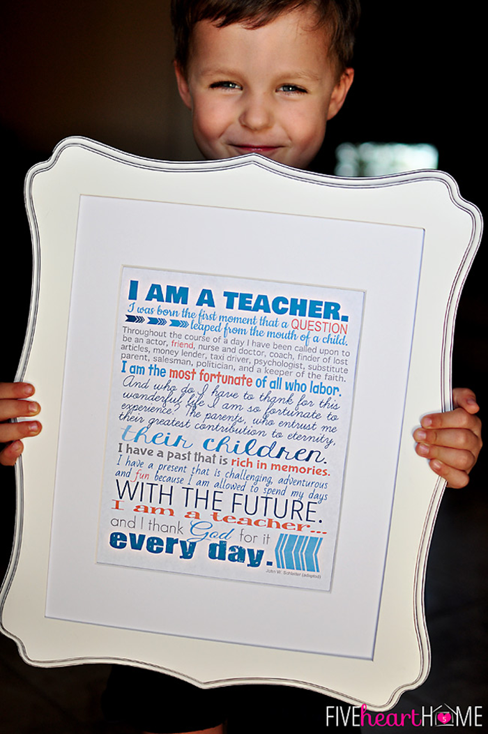 These 20+ Free Teacher Appreciation Printables are perfect for Teacher Appreciation Week coming up. The official Teacher Appreciation Week this year May 2nd through May 6th.