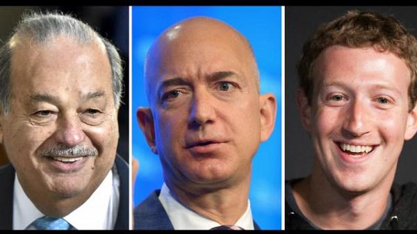 Classement 2018 des 20 hommes les plus riches du monde en image